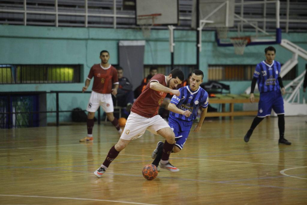 Futsal entre Jockey y Lujan
