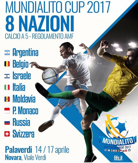 Resultado de imagen para mundialito de Novara de futsal