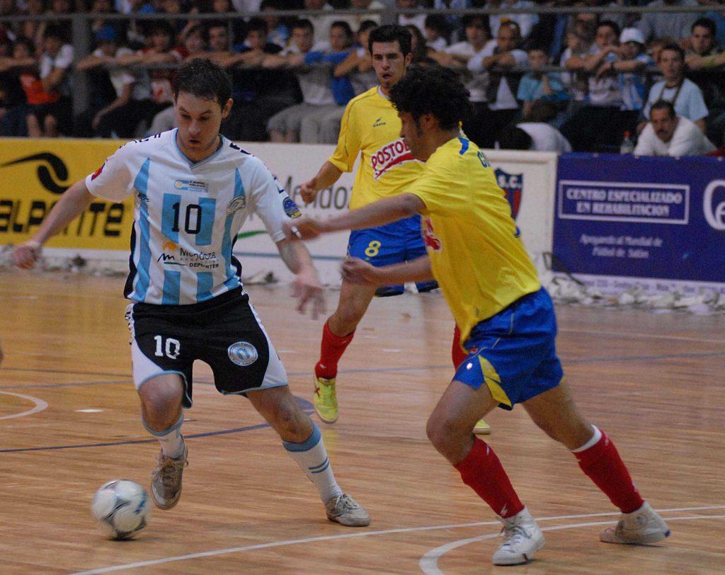 Marcelo Mescolatti marcó uno de los goles del triunfo argentino