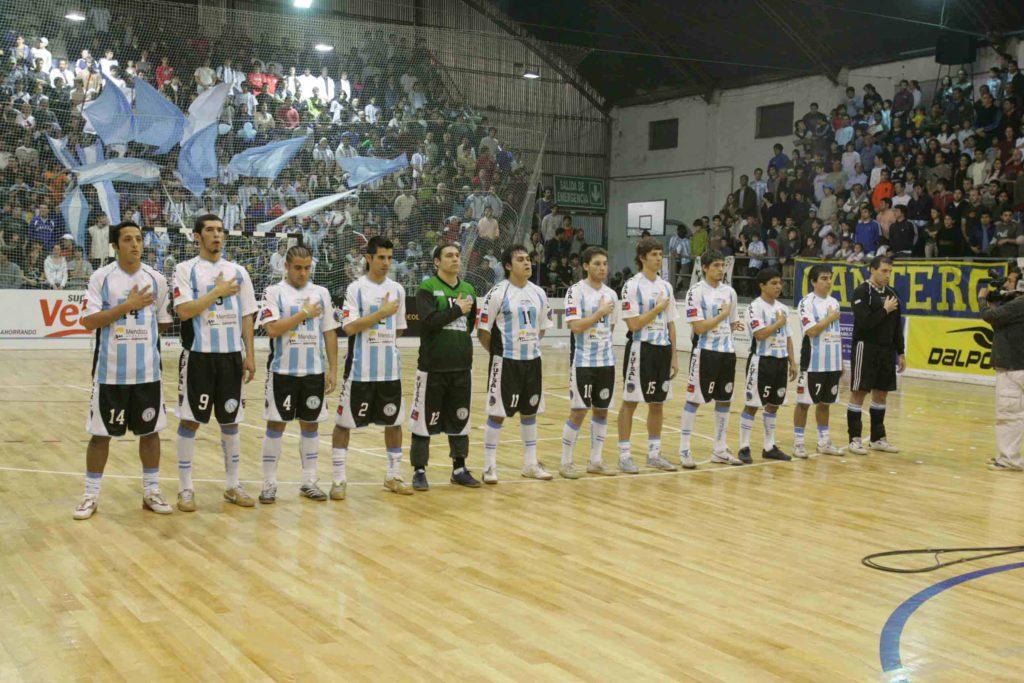 El equipo argentino completo que disputó aquel partido