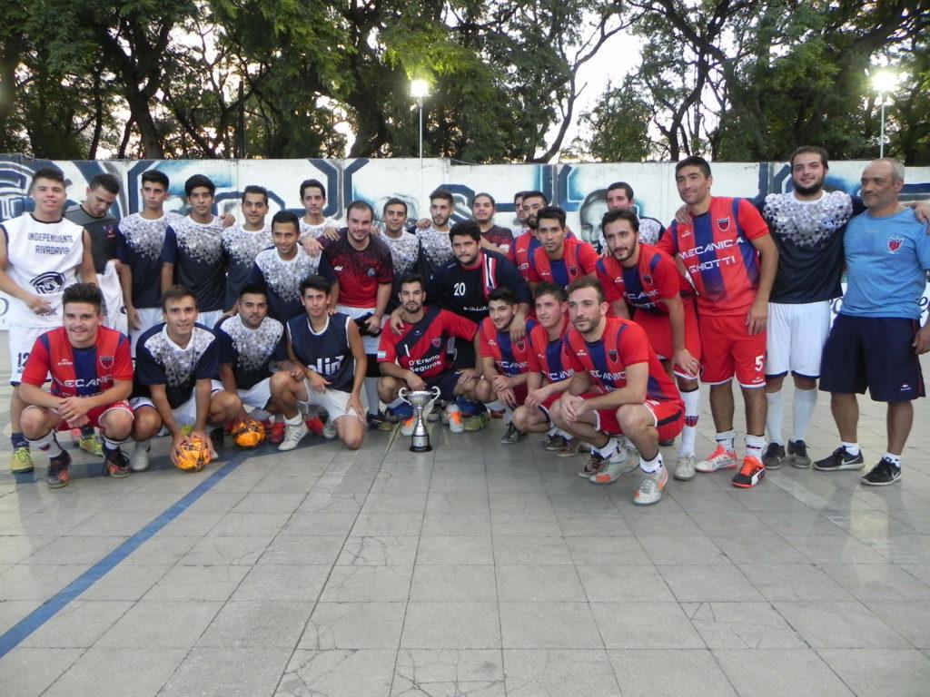 La foto de aquel partido amistoso frente a Talleres A en 2017.